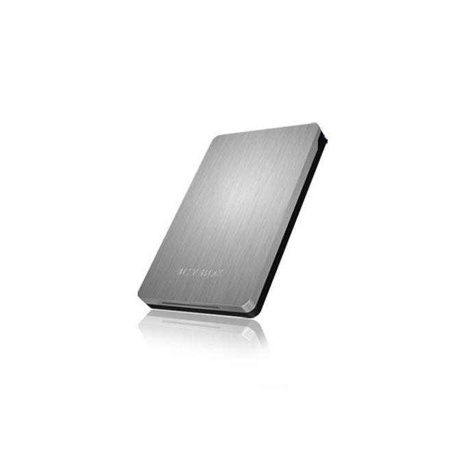 """Кутия 2.5"""" (6.35 cm), RaidSonic Icy Box IB-234-U31, за 2.5"""" SATA HDD, USB 3.1(MicroB), алуминиев корпус, сива image"""