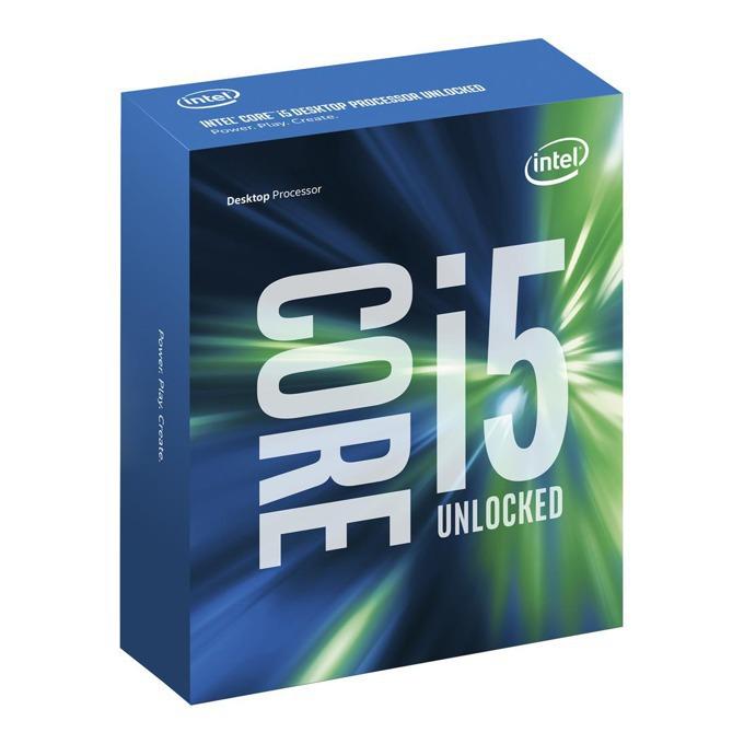 Процесор Intel Core i5-6600K четири-ядрен (3.5/3.9GHz, 6MB Cache, 350MHz-1.15GHz GPU, LGA1151)  image
