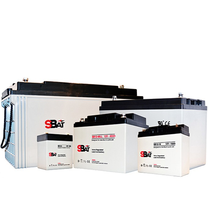 Акумулаторна батерия SBat SB12-1.3, 12V, 1.3Ah image