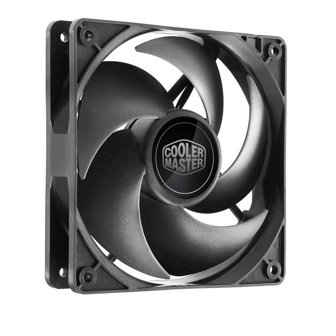 Вентилатор 120mm, CoolerMaster Silencio FP 120 (PWM), 4-пинов, 1400 rpm image