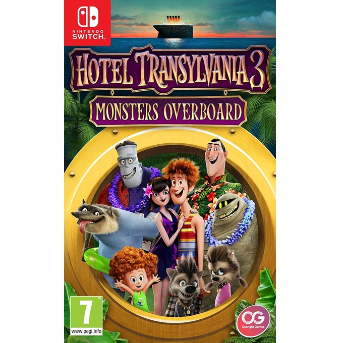 Игра за конзола Hotel Transylvania 3: Monsters Overboard, за Nintendo Switch image