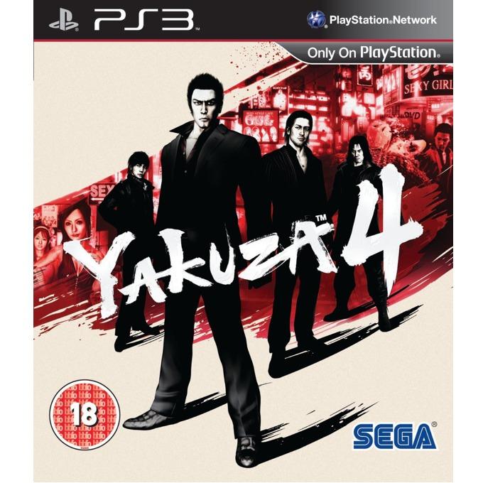 Игра за конзола Yakuza 4, за PS3 image