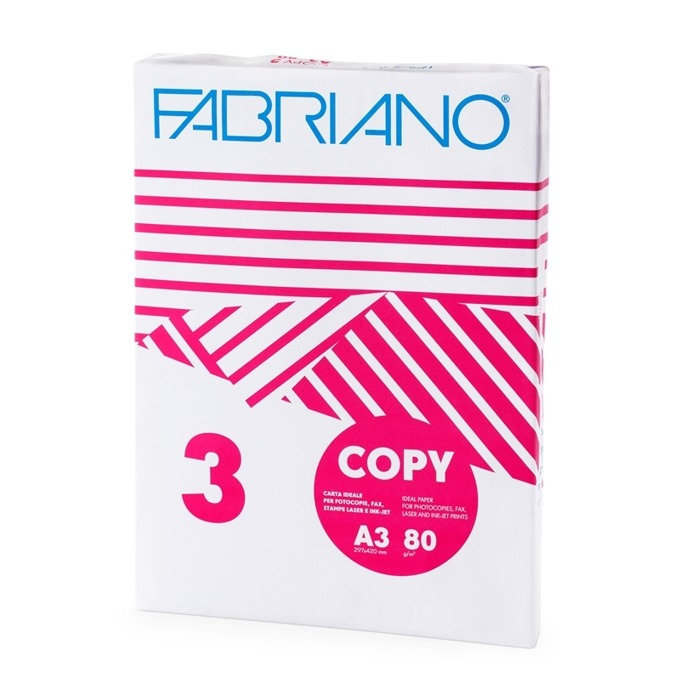 Fabriano Copy 3, A3, 80 g/m2, 500 листа product
