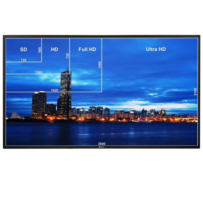 "Публичен дисплей AG NEOVO QD-75, 74.5""(189.23 cm), 4K UHD, IPS LED, VGA, HDMI, DVI-D, DisplayPort, USB, RS232, CVBS, RCA, LAN image"