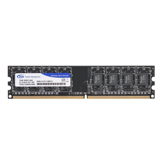 Памет 1GB DDR2 800MHz Team Group Elite, TED21G800C601, 1.8V image