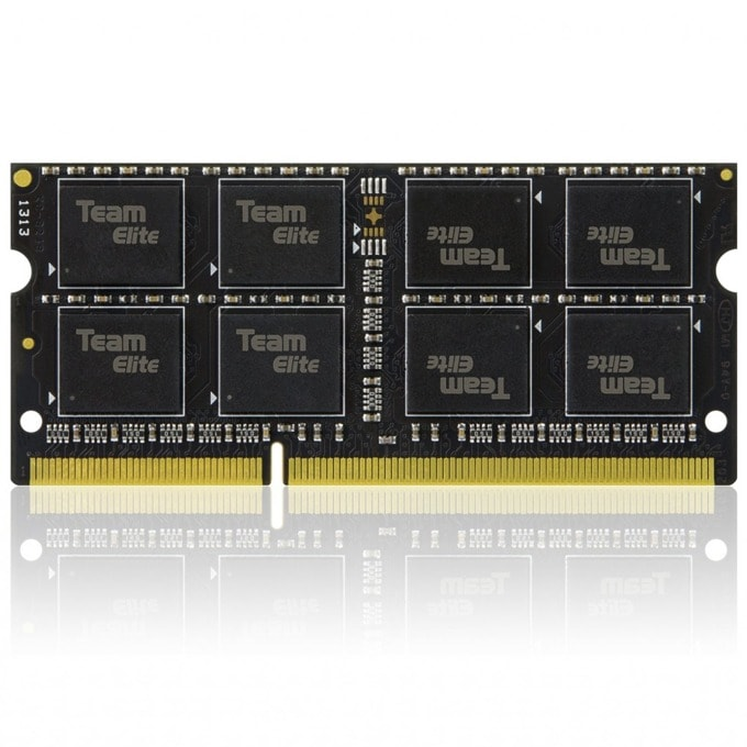 8GB DDR3L 1600MHz, SO DIMM, памет, 1.35V, Team Group Elit CL11-11-11-28  image