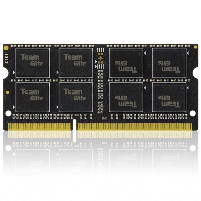 Памет 8GB DDR3L 1600MHz, SO DIMM, памет, 1.35V, Team Group Elit CL11-11-11-28  image