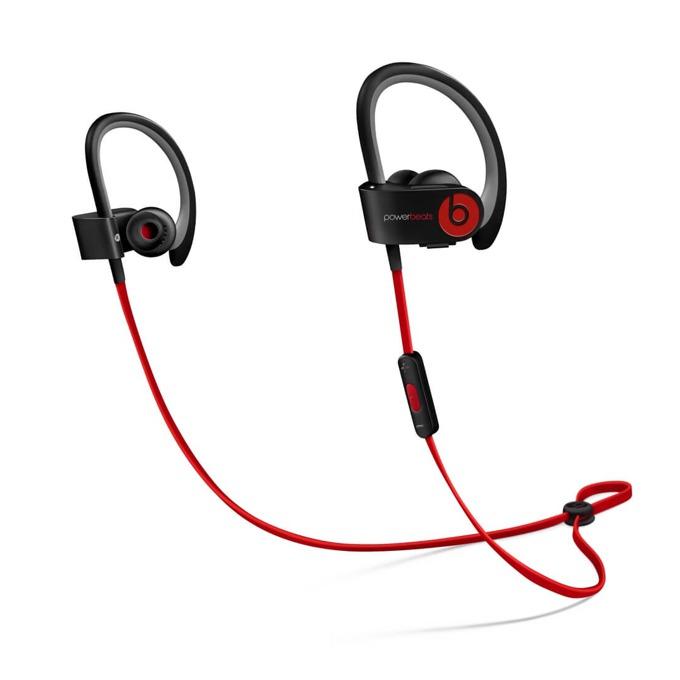 "Слушалки Beats by Dre PowerBeats 2 Wireless by Lebron James, черни, Bluetooth, тип ""тапи"", микрофон, водо-устойчиви, оптимизирани за iPhone/iPod/iPad image"