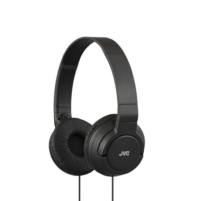 Слушалки JVC HA-S180, мощен и дълбок бас, 30мм неодимови говорители, 1.2м кабел, черни image