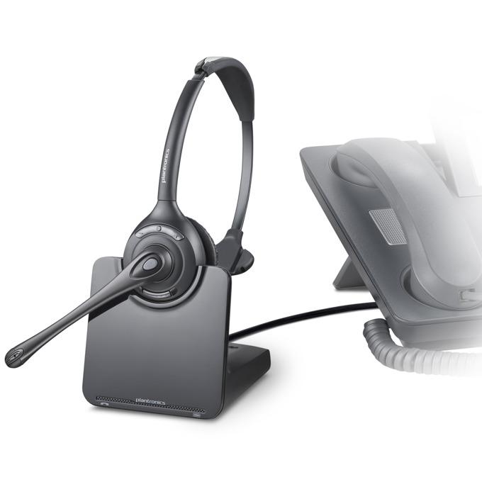 Слушалки Plantronics CS510, безжични, шумоизолиращ микрофон, DECT image