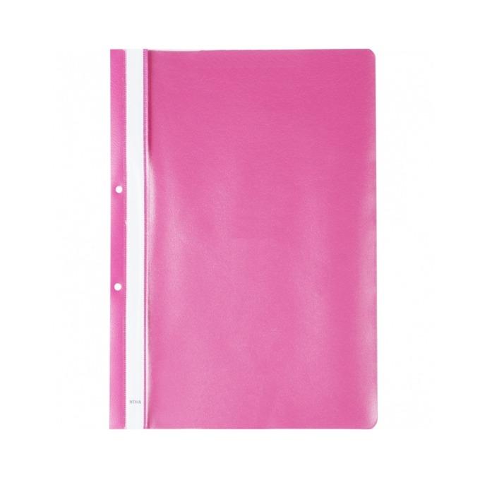 Папка PVC перфорация Lux розова product