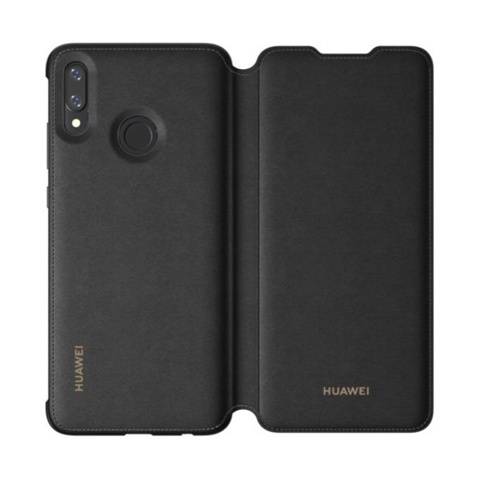 Калъф за Huawei P Smart (2019), Flip Cover Potter, черен image