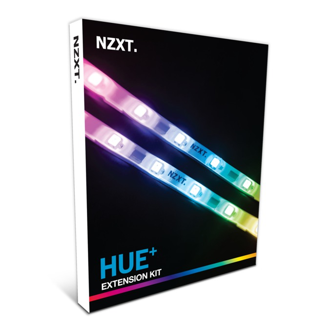 LED лента за кутия, NZXT HUE+ Extension Kit image
