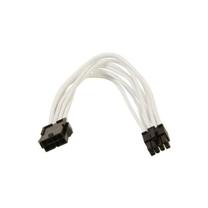 Захранващ кабел Gelid Solutions CA-8P-02, EPS 8pin(м)към 8pin(ж), 0.3m, бял image