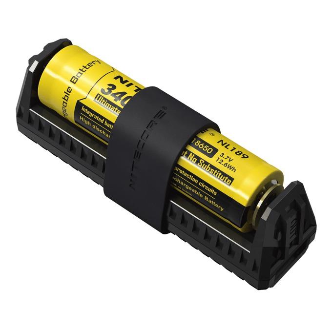 Зарядно устройство Nitecore F1 за Li-ion акумулаторни батерии - 26650, 18650, 18490, 18350, 17670, 17500, 16340(RCR123), 14500, 10440, DC 5V image