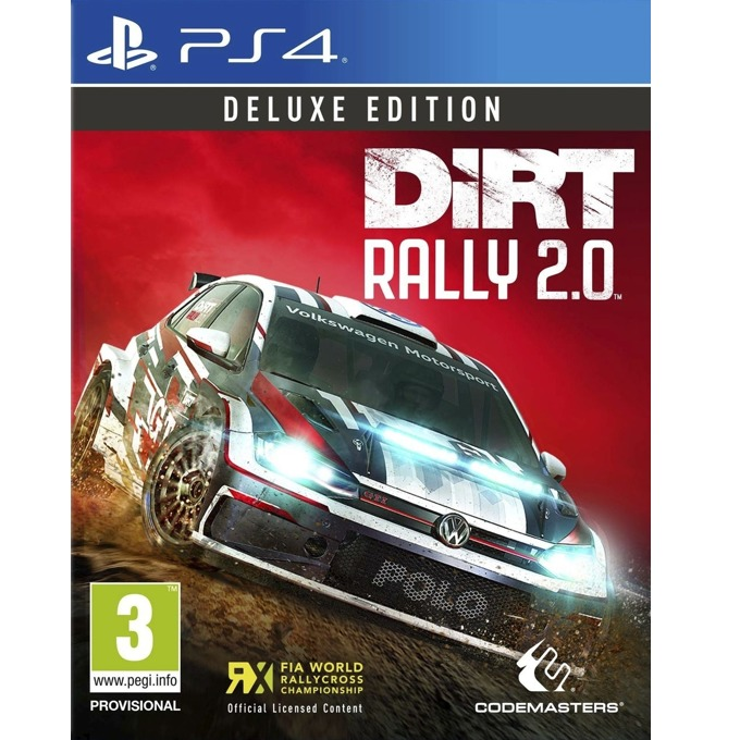 Dirt Rally 2.0 - Deluxe Edition, за PS4 image