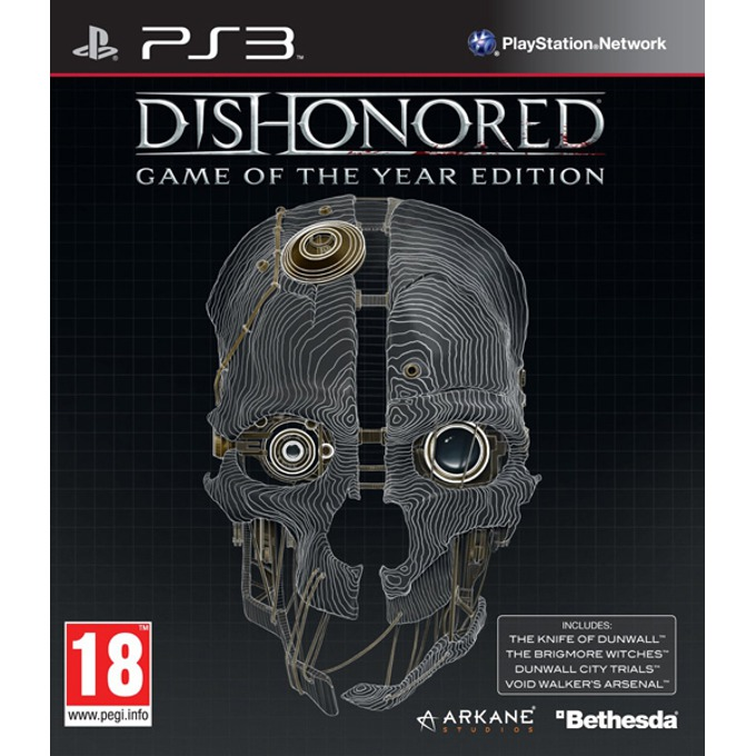 Игра за конзола Dishonored: Game of the Year Edition, за PlayStation 3 image