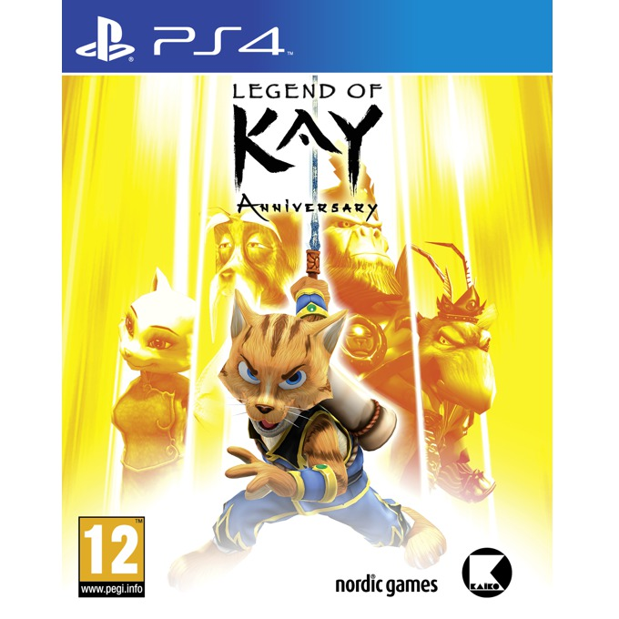 Legend of Kay Anniversary, за PS4 image