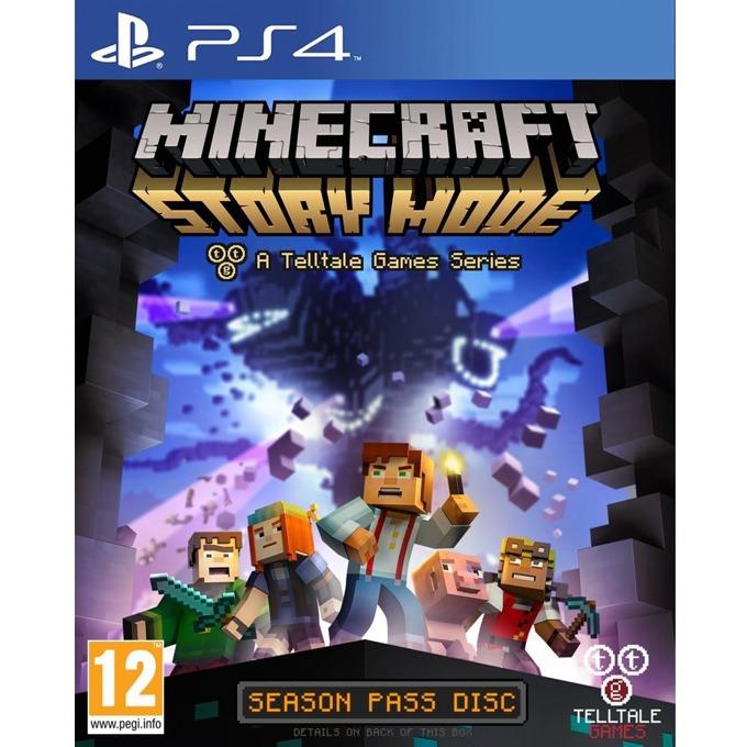 Игра за конзола Minecraft: Story Mode - Season Disc, за PlayStation 4 image
