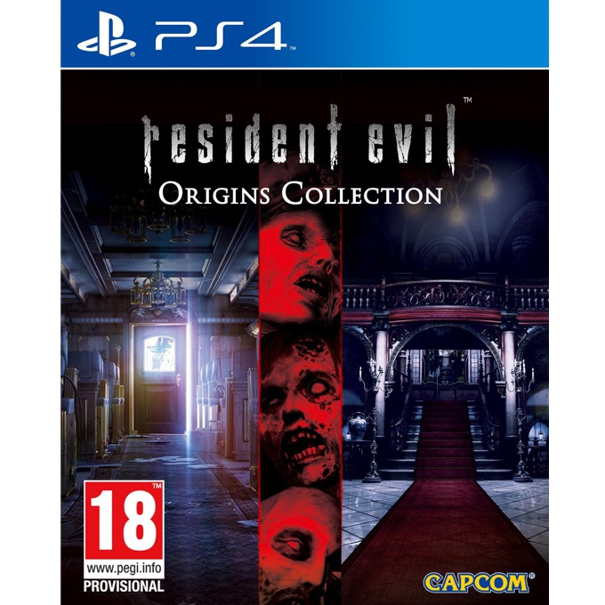 Игра за конзола Resident Evil Origins Collection, за PS4 image