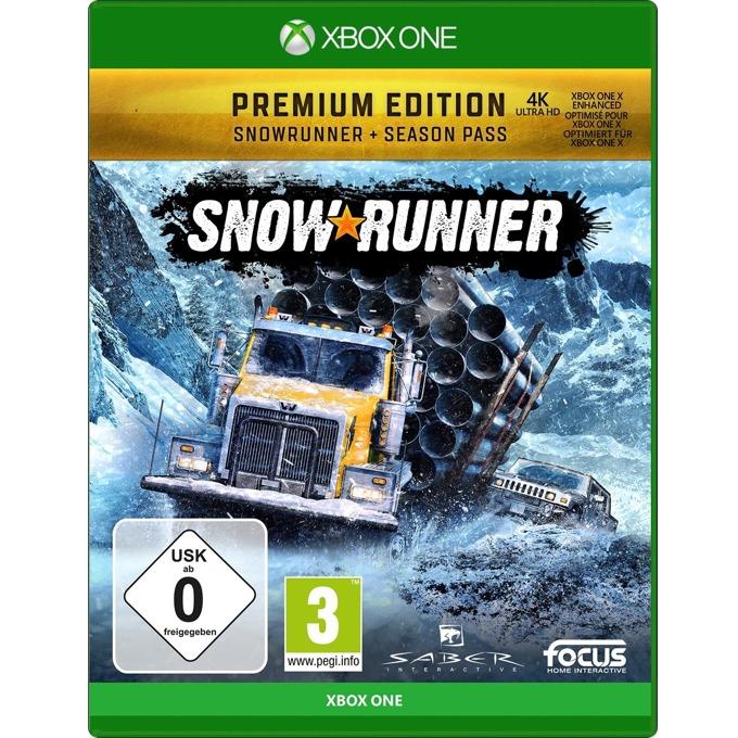 Игра за конзола Snowrunner: A Mudrunner game Premium Edition, за Xbox One image