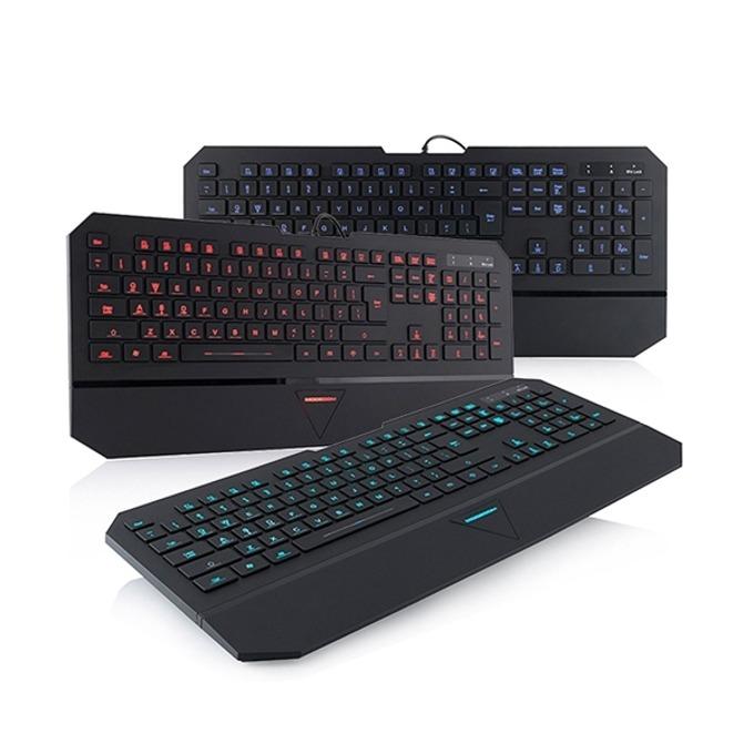Клавиатура Modecom MC-800M, Multimedia, Подсветка, черен image