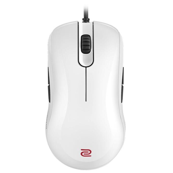 Мишка ZOWIE FK1+, оптична(3200 DPI), гейминг, USB 3.0, бяла image