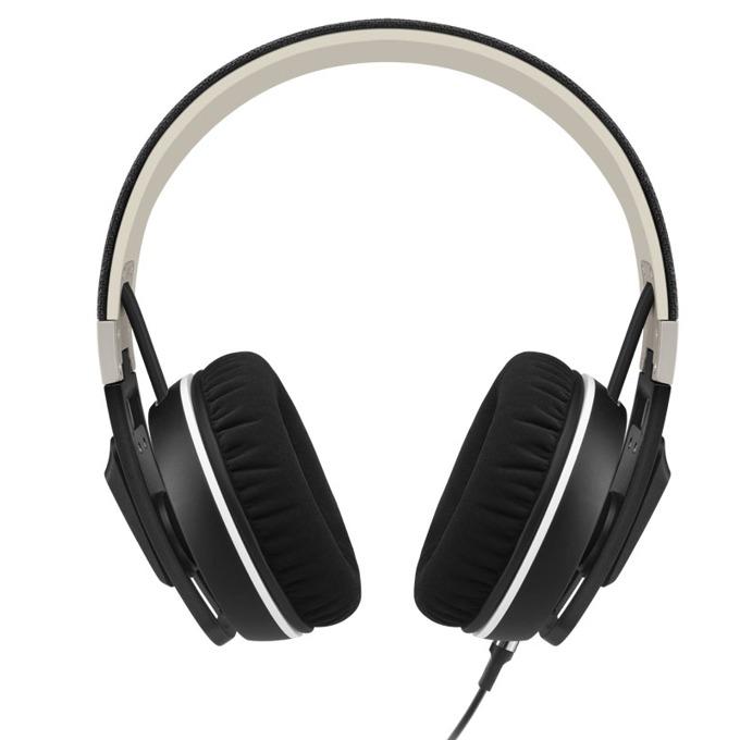 Слушалки Sennheiser Urbanite XL (Black, i), микрофон, 16Hz-22kНz честотен диапазон, 1.2 м ĸaбeл, черни image