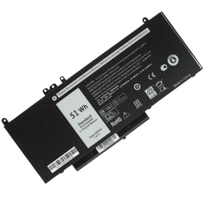 Батерия за DELL Latitude 7.4V 6800mAh 4cell
