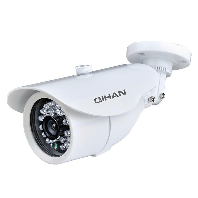 "Qihan QH-3231HC-N, камера, водоустойчива, 1/4"" HD CMOS, 1.0MP, 720P, 3.6mm, ИЧ-20 image"