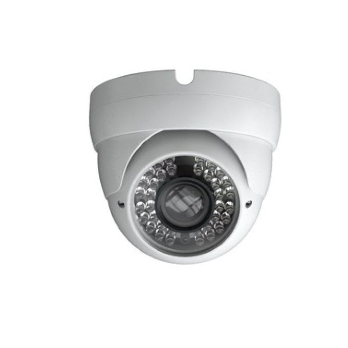 IP камера TVT TD-9515M-D/FZ/PE/IR2, куполна, 1.3 Mpix(1280x960@30FPS), 2.8-12mm обектив, H.264/MPEG-4/MJPEG, IR осветеност (до 20 метра), PoE, външна IP66, RJ-45 image