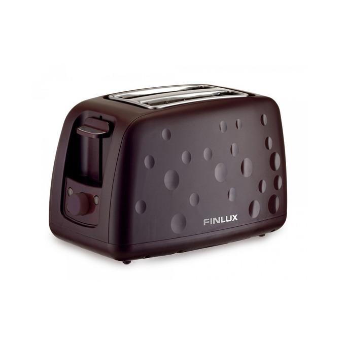 Тостер Finlux FT-930V, регулируем таймер, терморегулатор, функция размразяване, повторно нагряване, 900W, бордо image