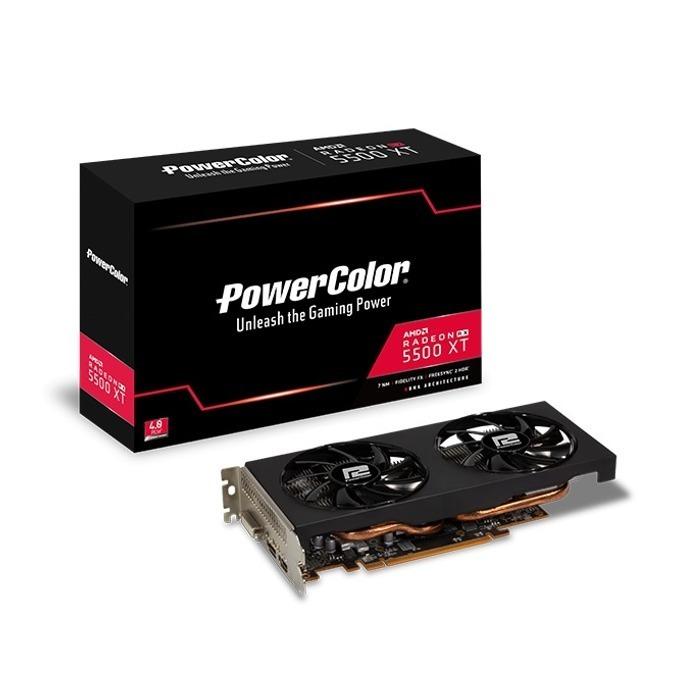 PowerColor AXRX 5500XT 8GBD6-DH/OC