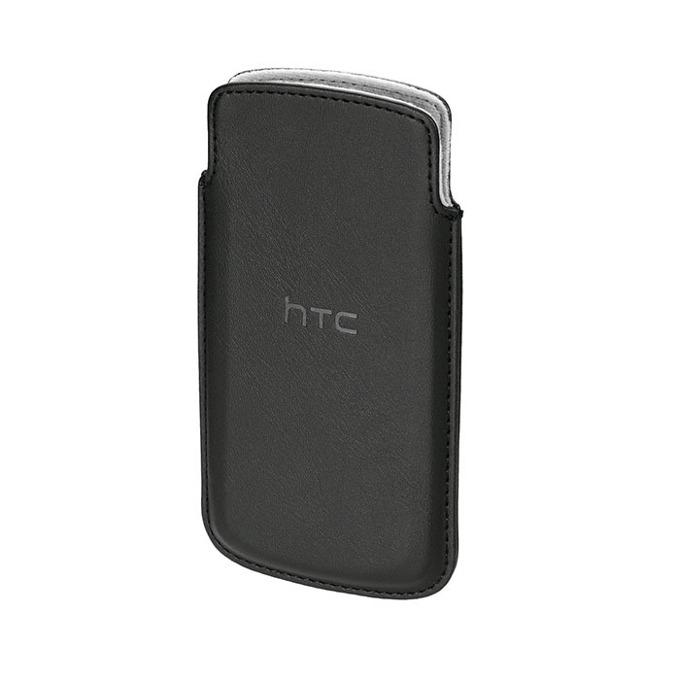 Калъф за HTCPO-S740/Z560E, джоб, кожен, HTC ONE S, черен image