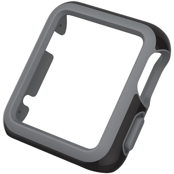 Страничен протектор Speck CandyShell Fit за Apple Watch 42mm CandyShell Fit, черен/сив image