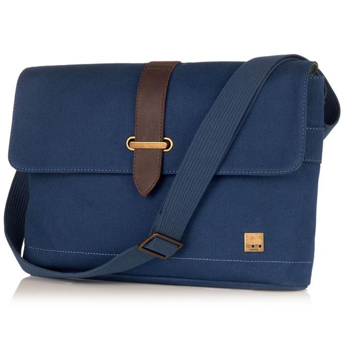 Чанта за лаптоп Knomo Troon Messenger до 13.3(33.78 cm), синя image