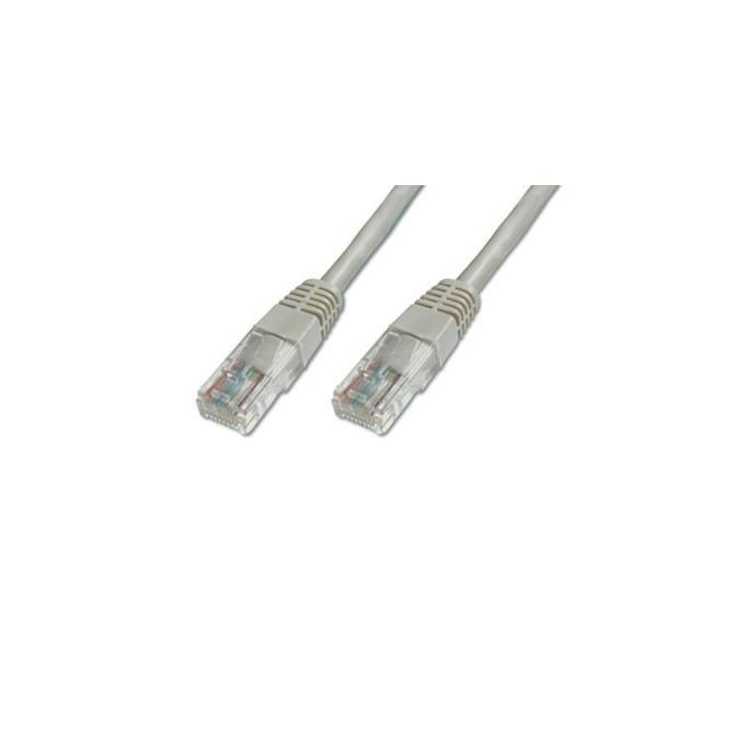 Пач кабел Assmann, U/UTP, Cat.5e, 3m, сив image