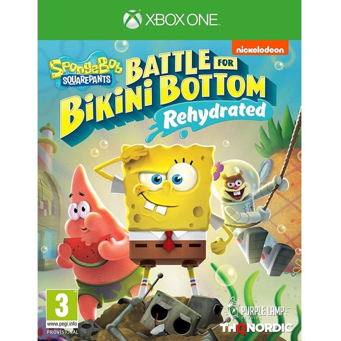 Игра за конзола Spongebob SquarePants: Battle for Bikini Bottom - Rehydrated, за Xbox One image