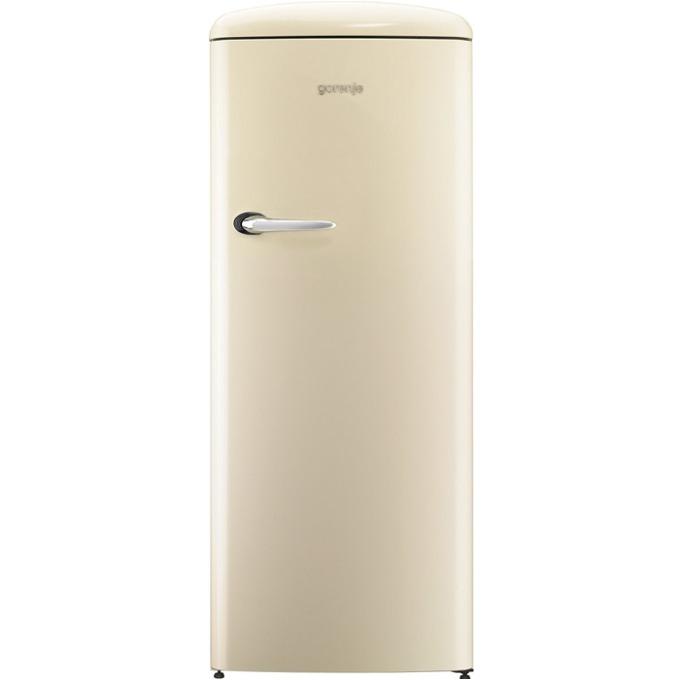 Хладилник с камера Gorenje ORB 152 C, клас A++, 254 л. общ обем, свободностоящ, 190 kWh/годишно, CrispZone, FreshZone, шампанско image
