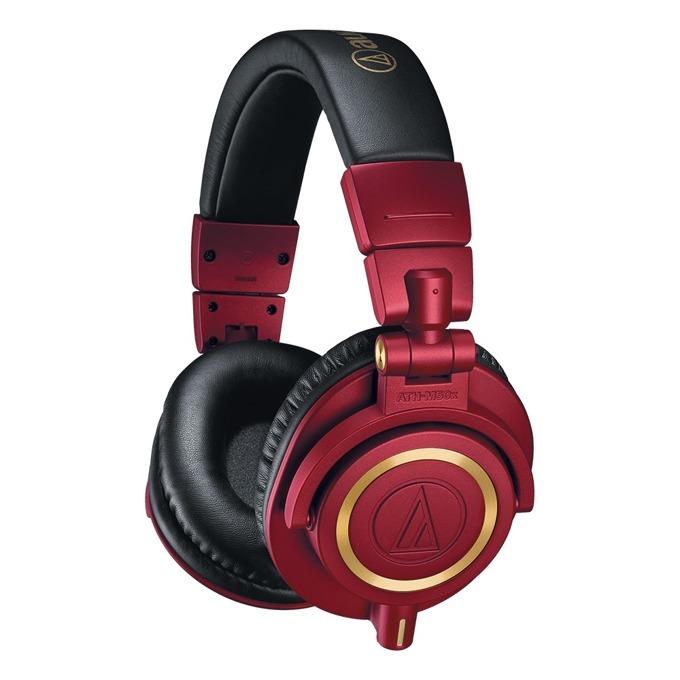 Слушалки Audio-Technica ATH-M50x, червени image