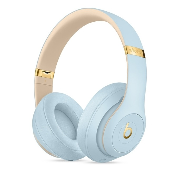 Слушалки Beats Studio3 Wireless Skyline Collection, Bluetooth, микрофон, до 40 часа работа, ANC, сини image