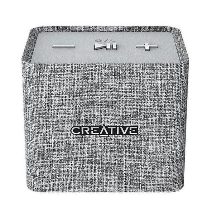 Тонколона Creative NUNO Micro, 1.0, безжични, 3W, Bluetooth, AUX, USB, сива image