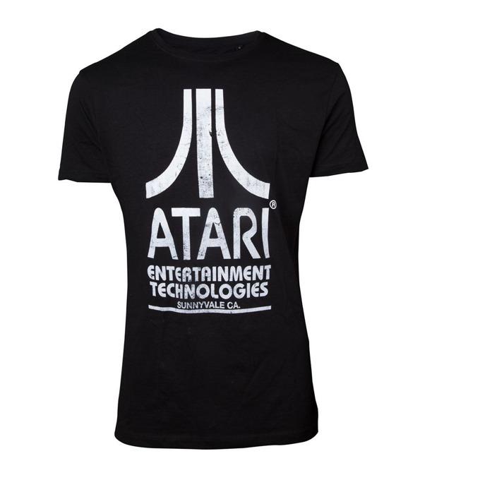 Тениска Bioworld Atari, размер L, черна image