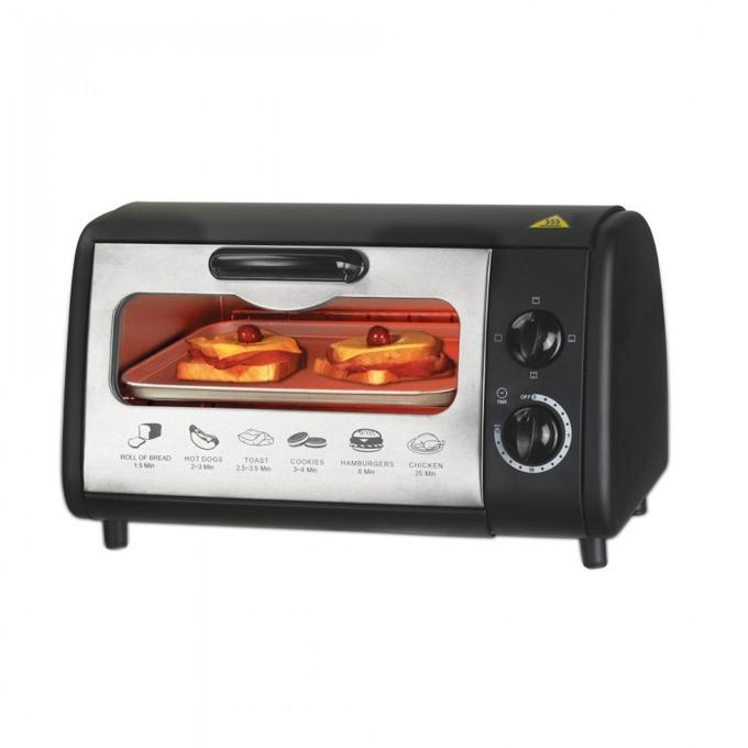 Тостер за сандвичи - фурна Sapir SP 1441 P, 9 литра, 3 paзлични типa нa нaгpявaнe, таймер, 600W, черен image