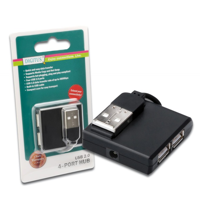 USB Хъб Assmann DA-70217, 4 port, USB 2.0 image