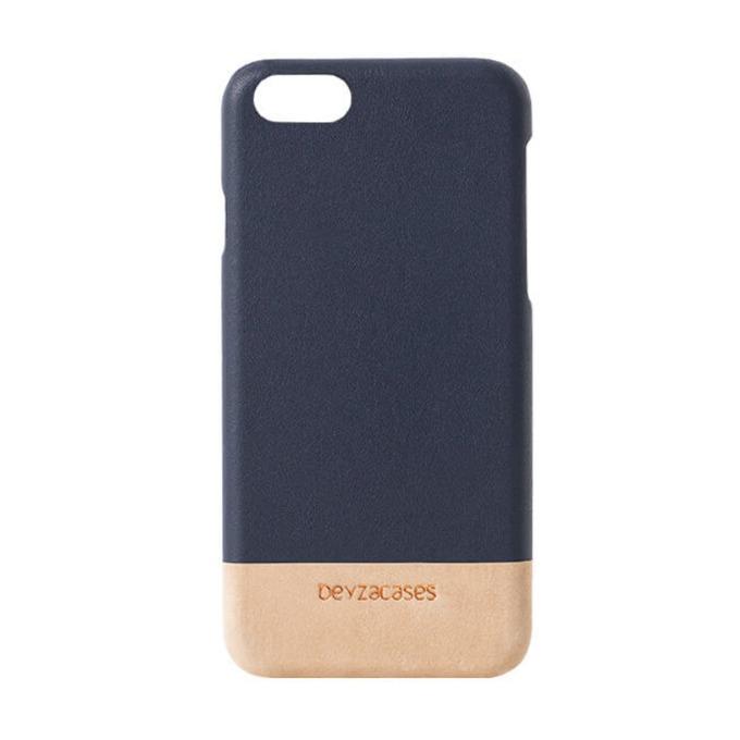 Калъф за Apple iPhone 7/8, кожен, Beyza Venice, син image
