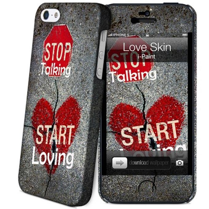 Протектор iPaint Love Case за iPhone 5/5s image