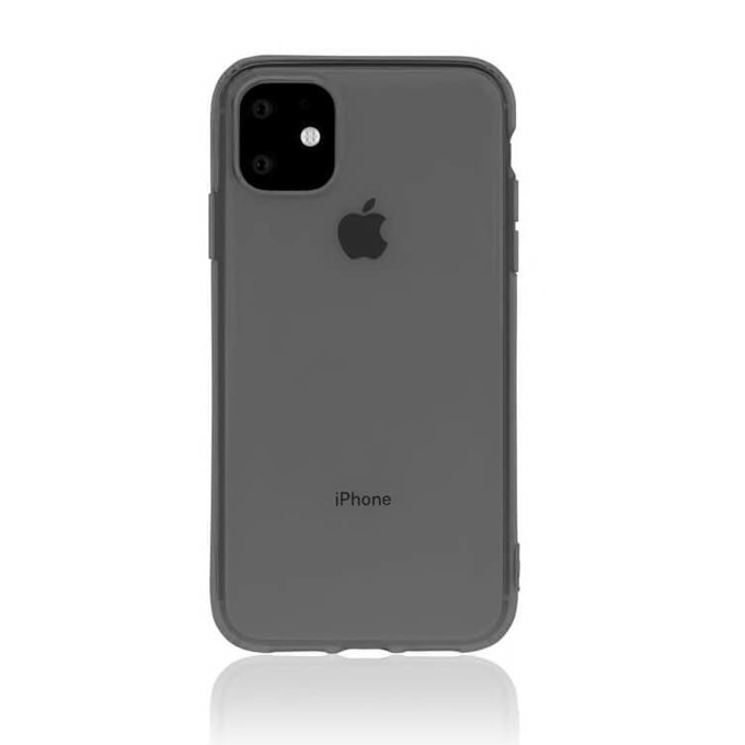 Kалъф за Apple iPhone 11, термополиуретанов, Torrii BonJelly Case IP1961-BON-02, черен image