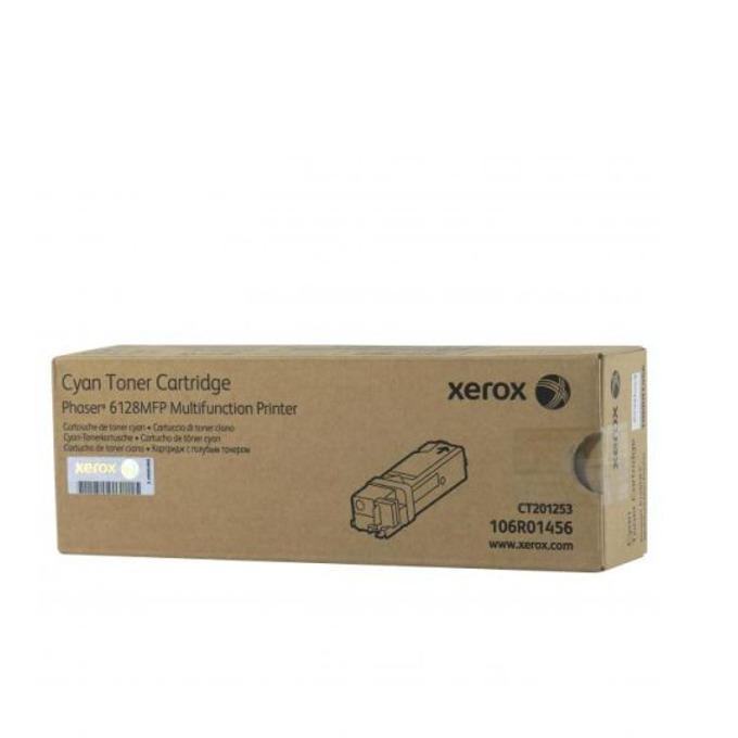 КАСЕТА ЗА XEROX Phaser 6128 - Cyan - P№ 106R01456 - заб.: 2500k image