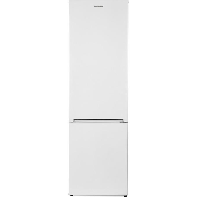 Хладилник с фризер Heinner HC-V286F+, 286 л. общ обем, свободностоящ, 264 kWh годишно, FrostLess, бял image